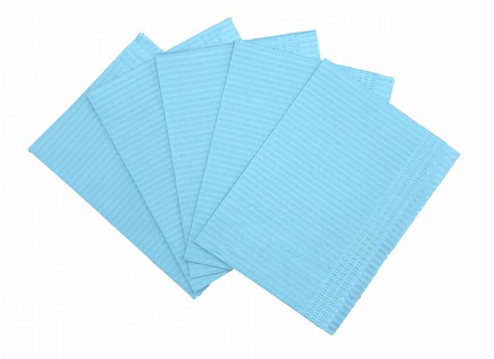 Emerald Dental Bibs (2-Ply Paper + 1-Ply Poly)