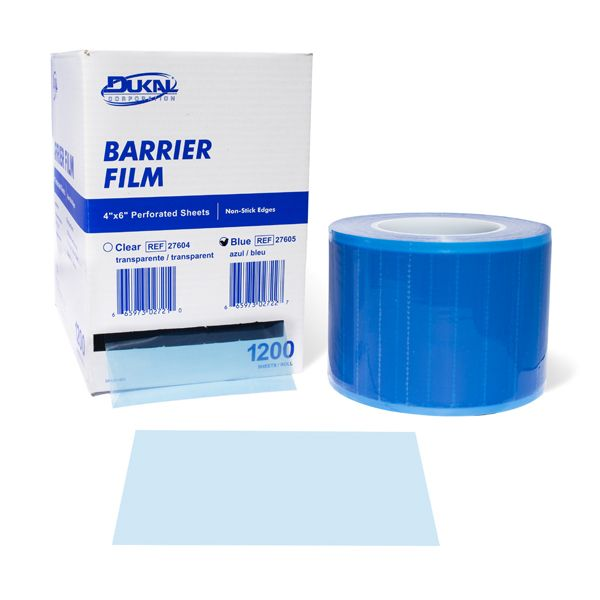 Dukal Barrier Film with Perforated Sheets