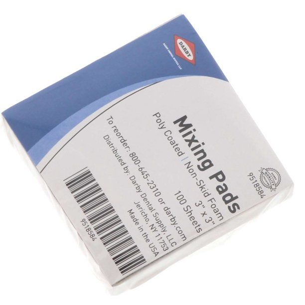 Darby Dental Mixing Pads