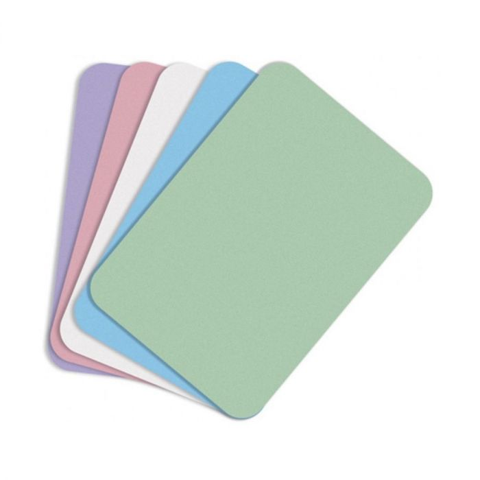 Emerald Dental Tray Covers (Mauve, Paper, Disposable)