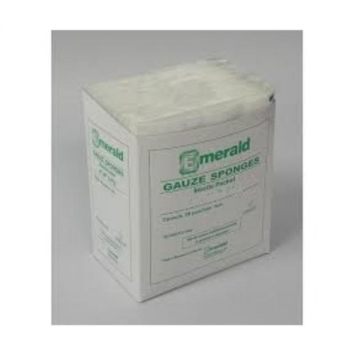 Emerald Gauze Sponges (2x2 inches) – 8 ply