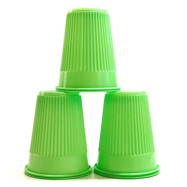 Mark3 Disposable Plastic Cups (Green) – 5oz.